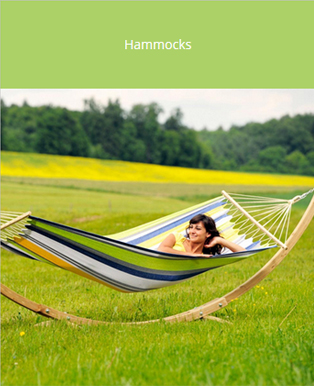 My Garden Room - Garden Hammocks