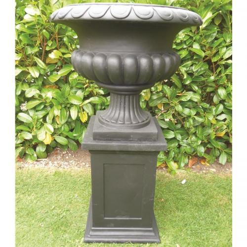 Barkestone Urn in Black - Small