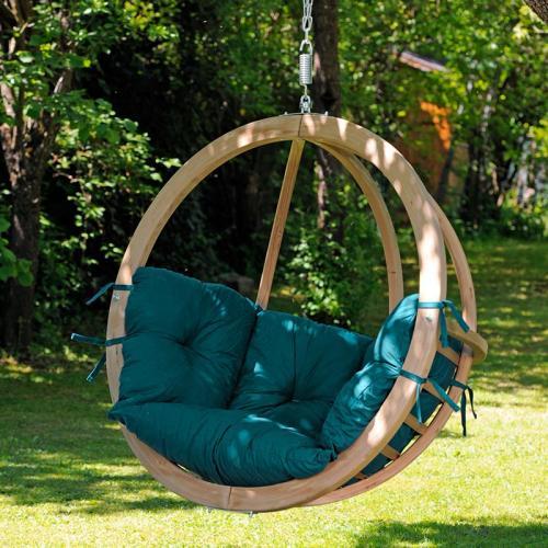 Globo Single Chair Green