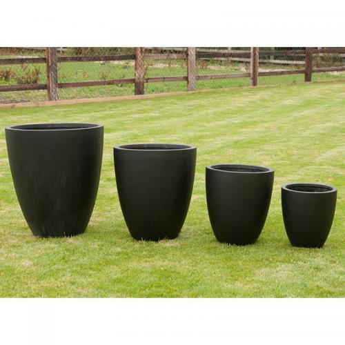 Whatton Pot Set of 4 in Black