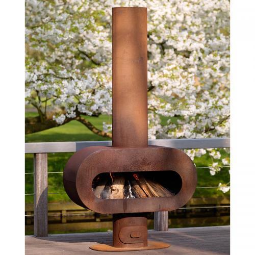 Zeno Barro Outdoor Fireplace