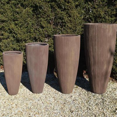Somerby Pot Planter in Rust - Extra Large