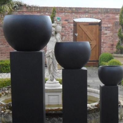 Barnstone Pot Set of 3 in Black